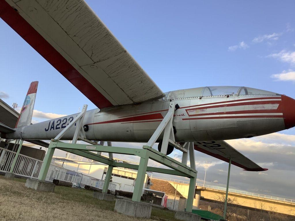 群馬県の道の駅にグライダー