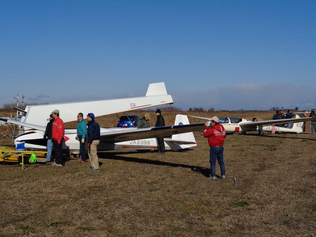 1月5日(日) 飛行はじめ JA2747×10 JA2399×5